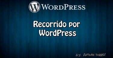 Recorrido WordPress